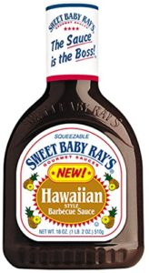 Sweet Baby Rays Hawaiian